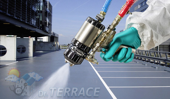 Polyurea Coating services in chennai Dr terrace waterproofing